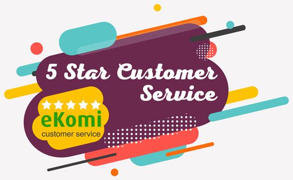 5 Star Customer Service