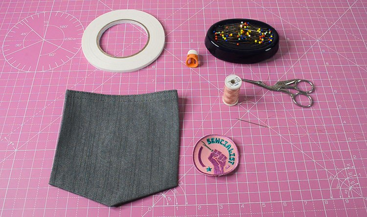 How To Apply a Sew-On Patch