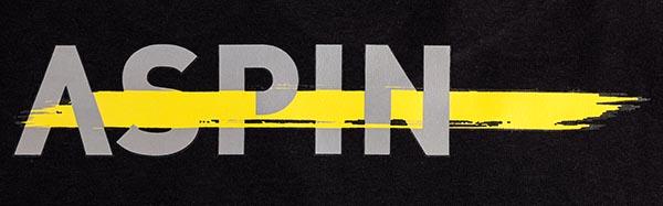 ASPIN alt logo heat transfer print