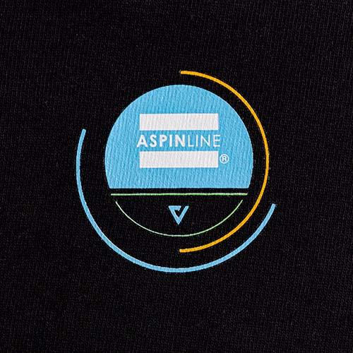 Aspinline logo heat transfer