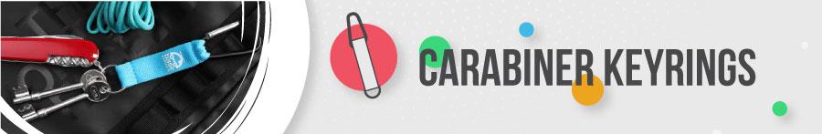 Carabiner Keyrings Banner
