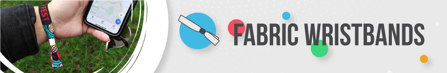 Fabric Wristbands Banner